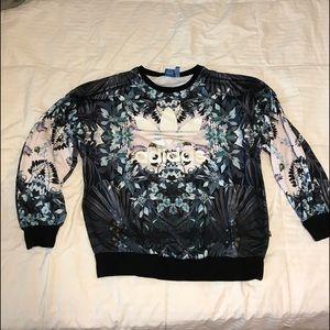 Adidas originals crew neck sweatshirt size L